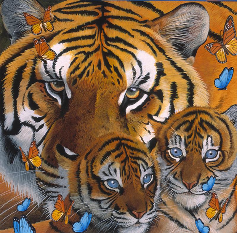 зашел ней сколько тигров на картинке загадка всего необходимого